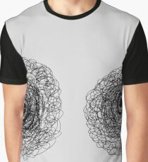 """stare"" Apple Pencil drawing Graphic T-Shirt"