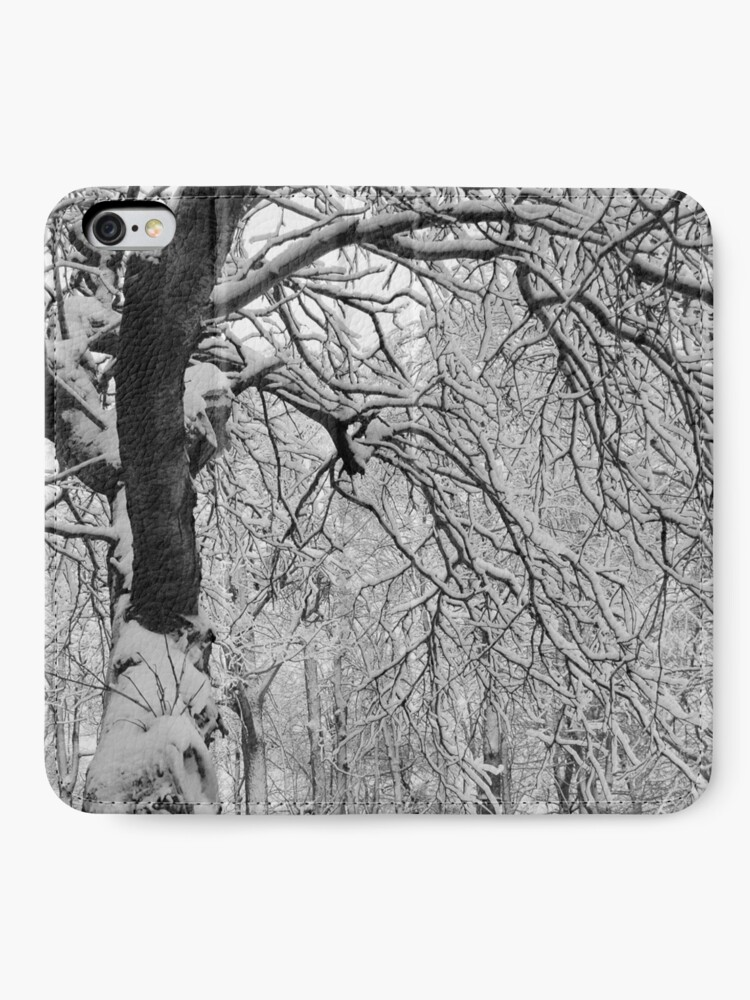 Alternate view of Frozen Forest iPhone Wallet