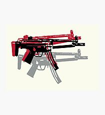 MP5 Andy Warhol Photographic Print
