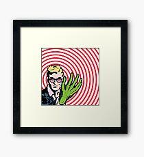 """X-Ray Vision!"" - Comic Book Dreams Framed Print"