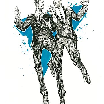 Jazz Dancers, Al Minns & Leon James by ryancallowayart