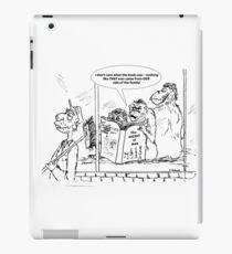 Zoo Humour - Cartoon 0027 iPad Case/Skin