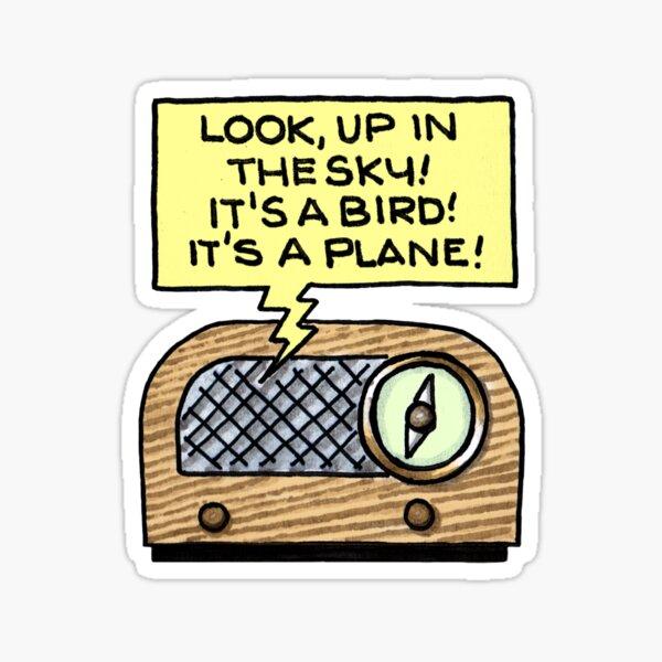 Vintage Radio Show 01 Sticker