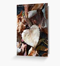 I Heart Nature Greeting Card