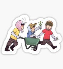 Pegatina Wanna One Go - Los tontos