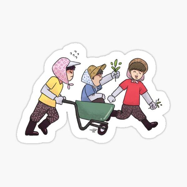 Wanna One Go - The Fools Sticker