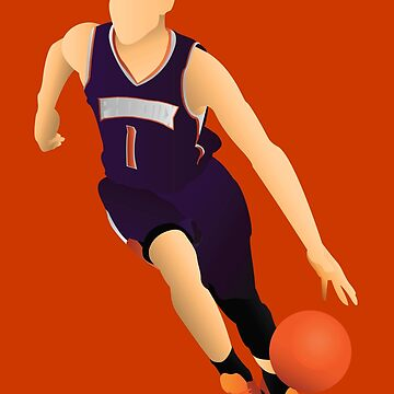 Devin Booker by Mrbadapplez