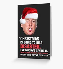 A Donald Trump Christmas Disaster Greeting Card