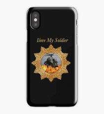 I lOVE My Soldier Army helicopter  iPhone Case/Skin