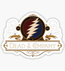 dead - Came out like water from a rock: Time was away and somewhere else. Sticker