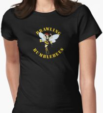 Brawling Bumblebees Women's Fitted T-Shirt