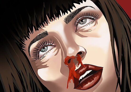 Mia Wallace  by Pablocreations
