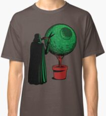 Clipping bushes using the dark side Classic T-Shirt