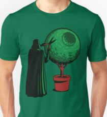 Clipping bushes using the dark side T-Shirt
