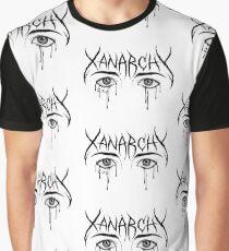 "Lil Xan ""crying eyes"" T Shirt Sad Eyes Teary Eyes Merch Xanarchy Graphic T-Shirt"