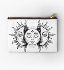 Bolso de mano Eclipse Solar Vintage Sol y Luna
