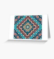 Navajo pattern Greeting Card