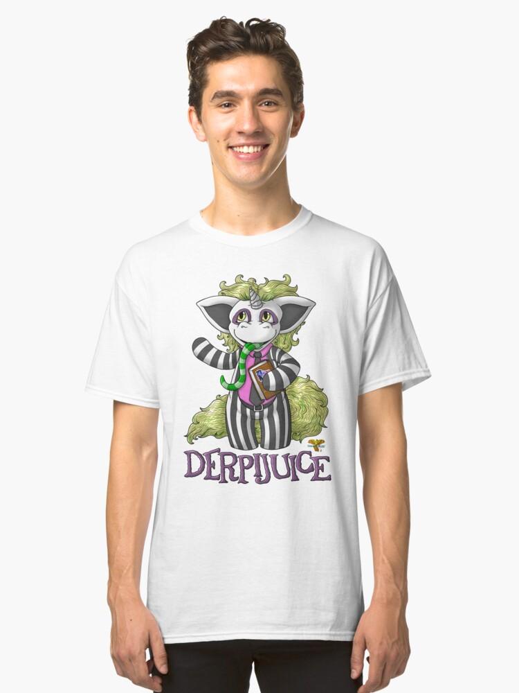 DerpiJuice Classic T-Shirt Front