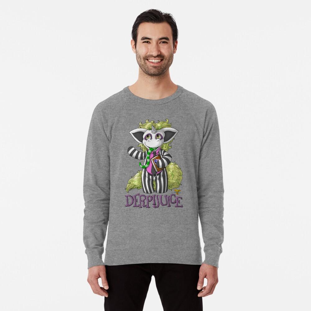 DerpiJuice Lightweight Sweatshirt Front