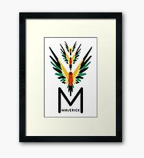 MAVERICK Framed Print