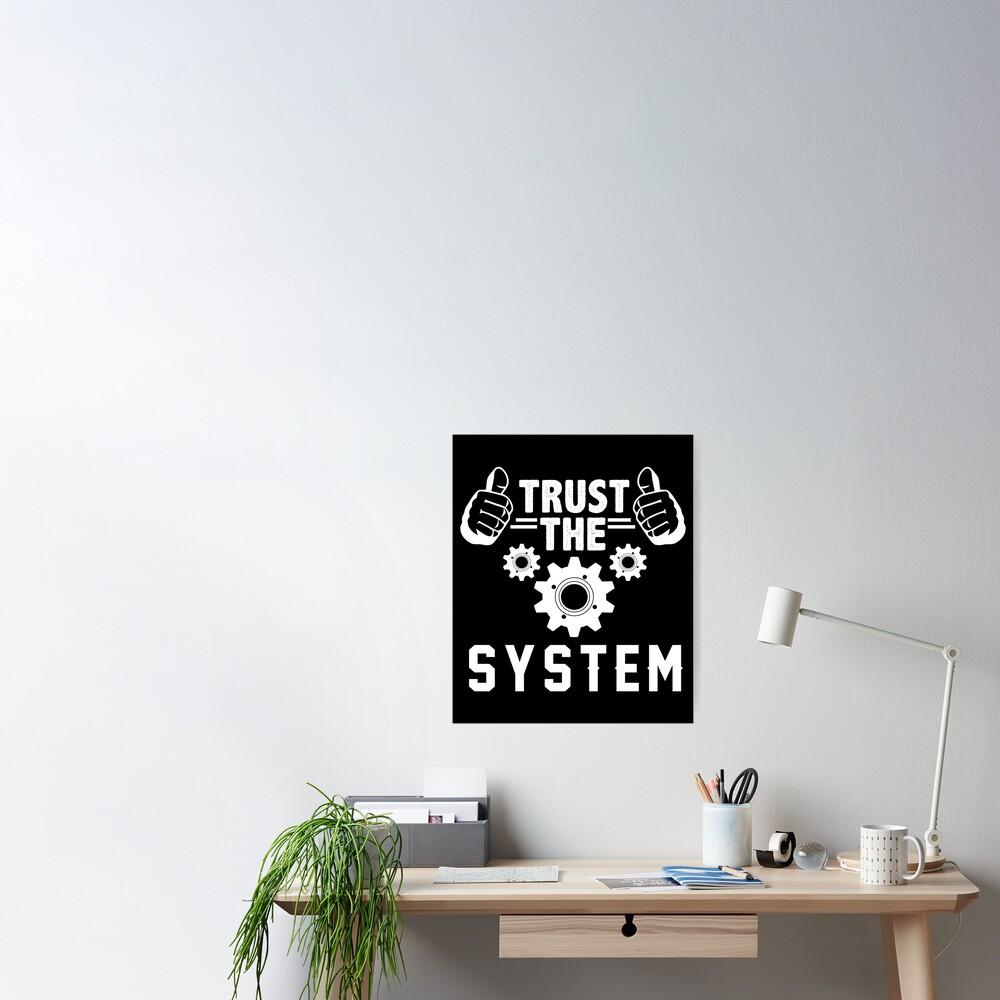 Vintage Anarchy Protest - Retro Riot Gift   Political Activist Anarchist - Anti Illuminati Activism Poster