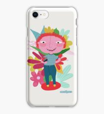 You are perfect just as you are- Illustration iPhone Case/Skin