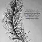 Feathers by David Hayes
