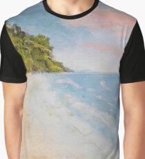 The beach Graphic T-Shirt