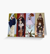 Haunted Mansion Stretch portraits Greeting Card