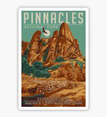 Pinnacles National Park California Sticker