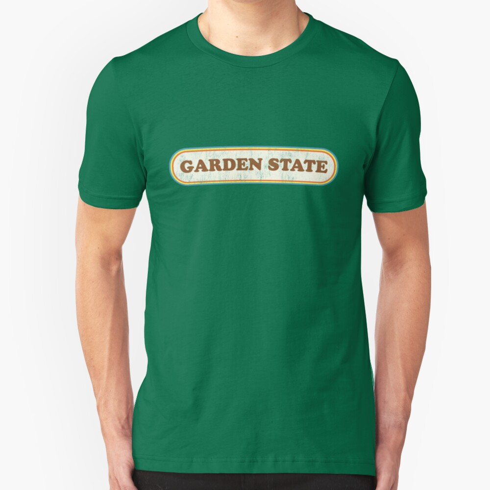 Garden State | Retro Badge Slim Fit T-Shirt