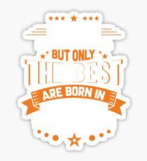 legends are born in october -  legends born Sticker