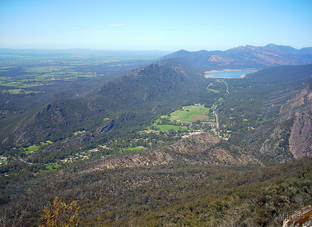 Halls Gap From Above by Mitch85