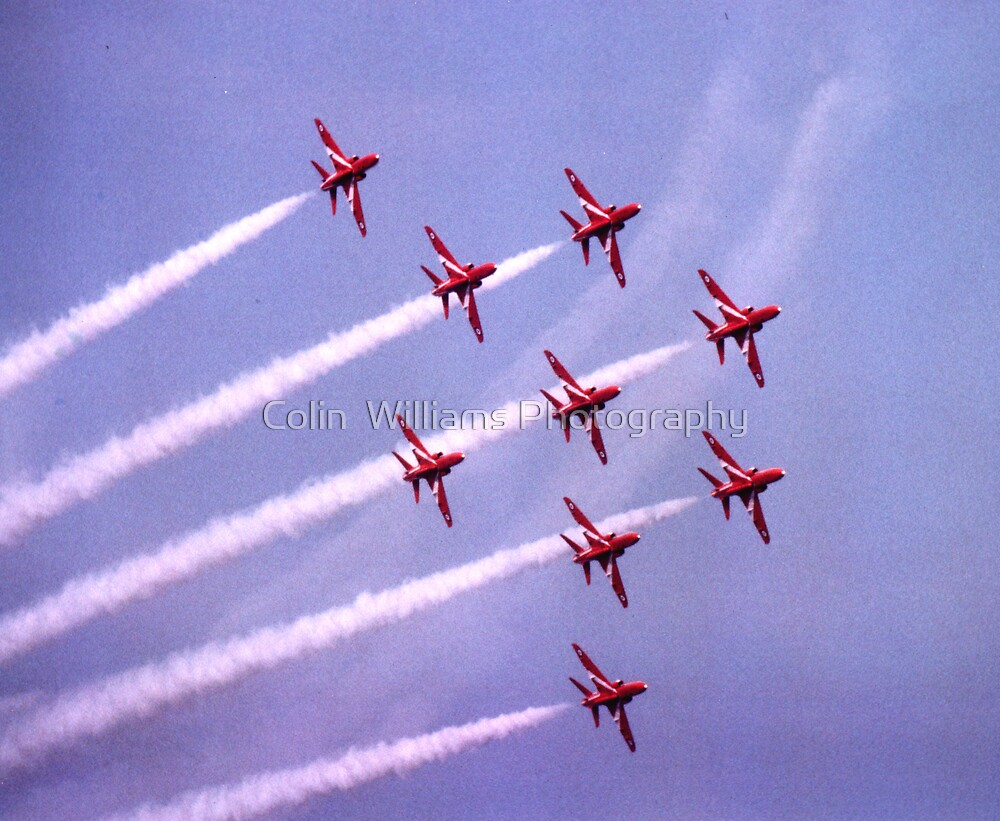 Flypast From the Cliffs, Broadstairs, Kent, 1981 by Colin  Williams Photography