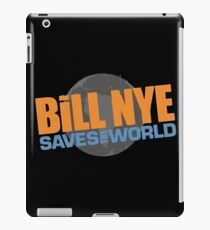 bill - smiled as if they were happy and laughed like they were tickled iPad Case/Skin