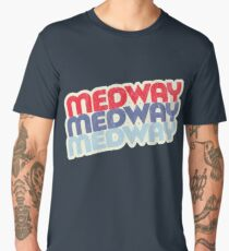 Medway | Retro Stack Men's Premium T-Shirt