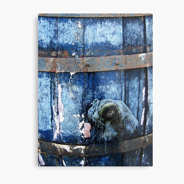 The empty barrel Metal Print