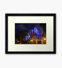 Welcome to the Haunted Mansion Framed Print
