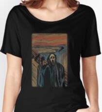 The Screaming Ghostface Women's Relaxed Fit T-Shirt