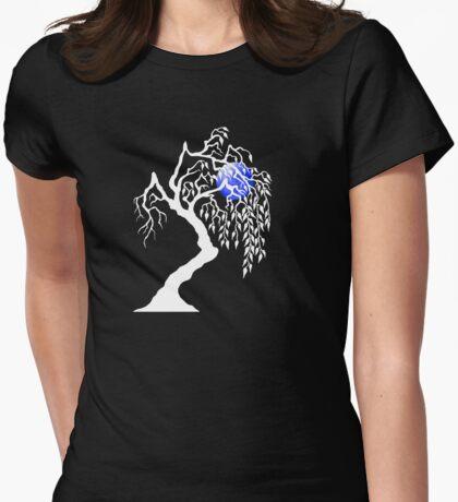 white tree blue moon T-Shirt