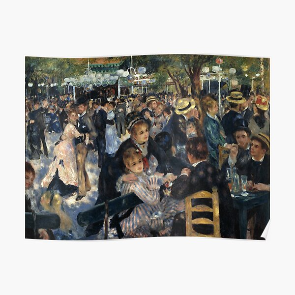 Vintage Pierre Auguste Renoir Fine Art Poster