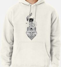 Fox Space Forest Pullover Hoodie