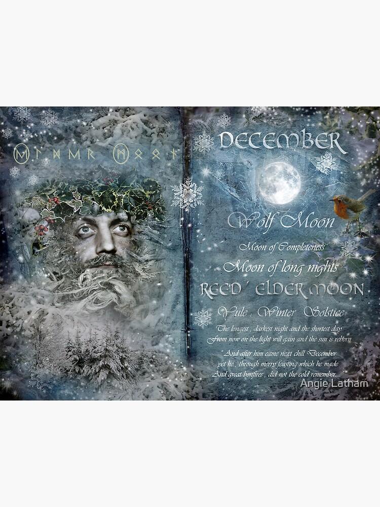 December : Reed/Elder Moon by AngelaBarnett
