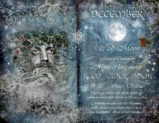 December : Reed/Elder Moon by Angie Latham