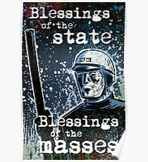 THX 1138 george lucas lucasfilm chrome robot 1970's science fiction sci fi police android hard sci fi Poster