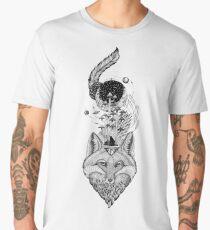 Fox Space Forest Men's Premium T-Shirt