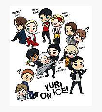 Yuri On Ice- Chibi Team Photographic Print