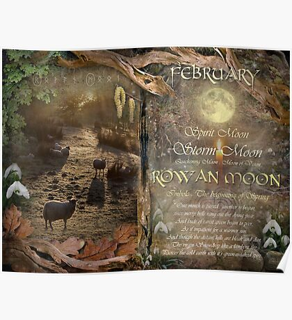 February : Imbolc Poster