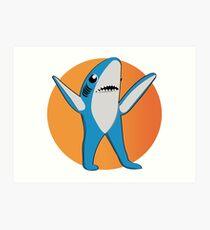 Super Bowl's Left Shark! Art Print