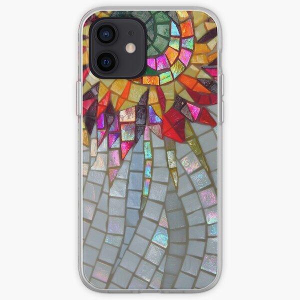 Star Flower,  photography of shiny mosaic - JUSTART © iPhone Soft Case